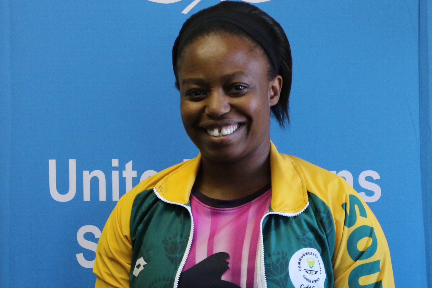 South African wrestler Madi Mpho is UWW's first Human Rights Champion